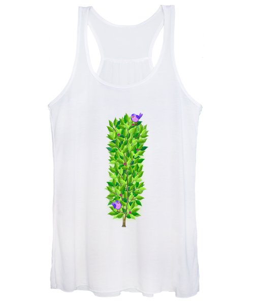 H Is For Hedgehog And Hammock Women's Tank Top