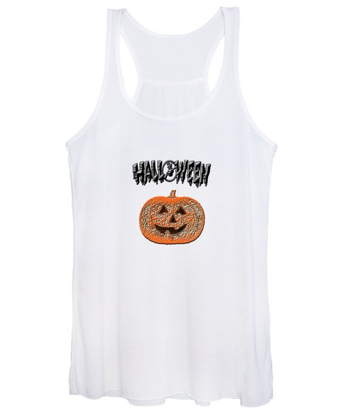 Halloween Pumpkin Women's Tank Top