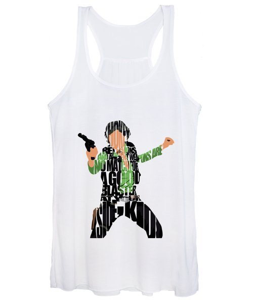 Han Solo From Star Wars Women's Tank Top