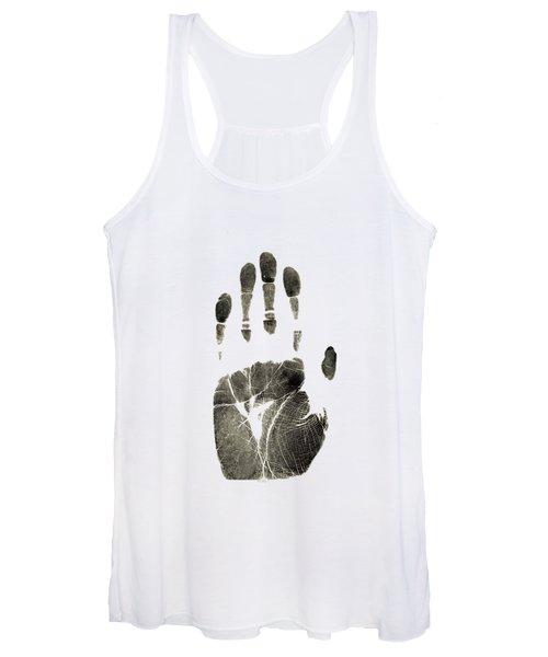 Handprint Phone Case Women's Tank Top