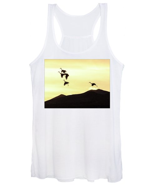 Women's Tank Top featuring the photograph Hang Time by Marla Craven
