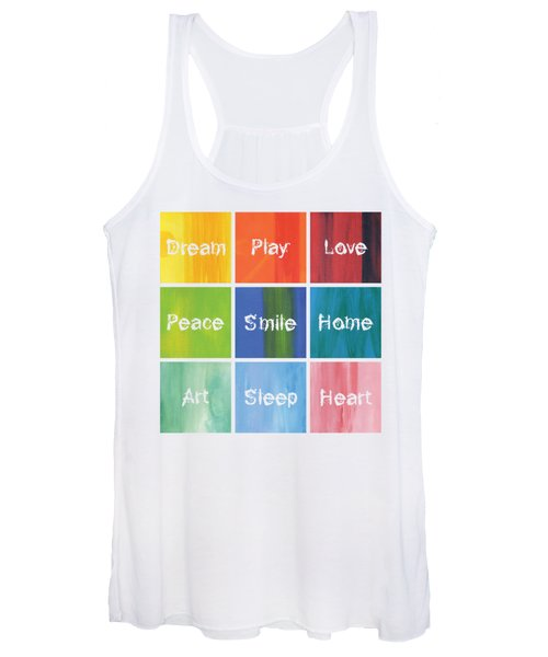 Happy 9 In 1 Women's Tank Top