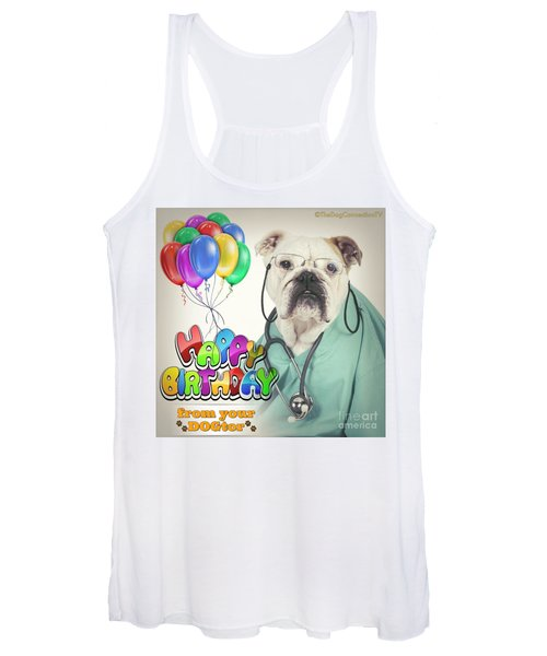 Happy Birthday From Your Dogtor Women's Tank Top