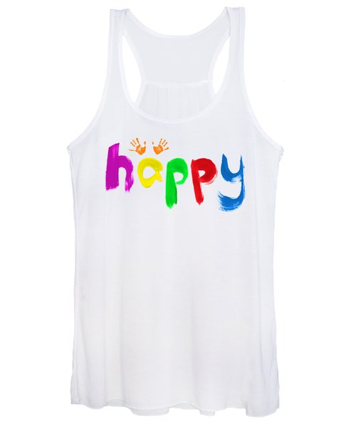 Happy Women's Tank Top