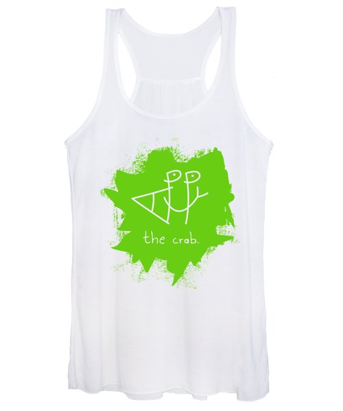 Happy The Crab - Green Women's Tank Top