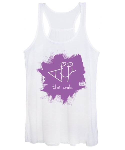 Happy The Crab - Purple Women's Tank Top