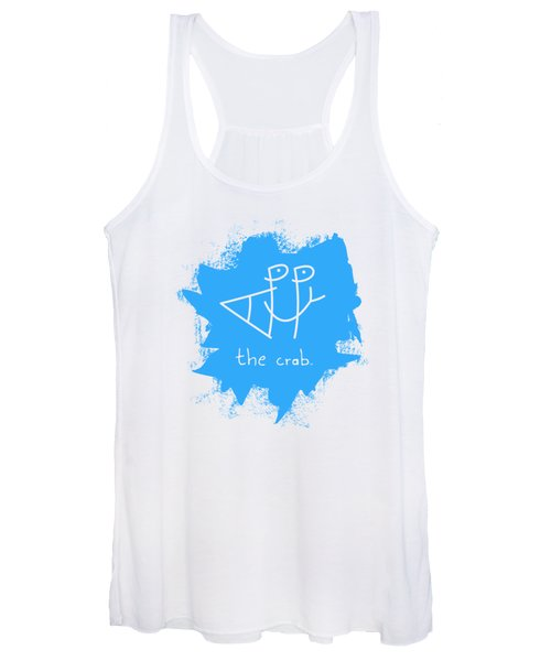 Happy The Crab - Blue Women's Tank Top