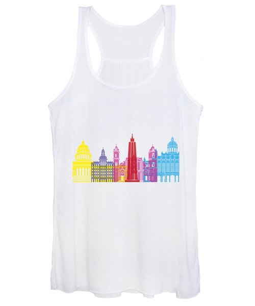Havana Skyline Pop Women's Tank Top