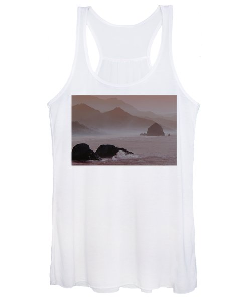 Haystack Rock Women's Tank Top