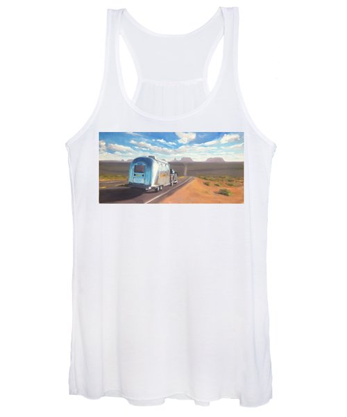 Heading South Towards Monument Valley Women's Tank Top
