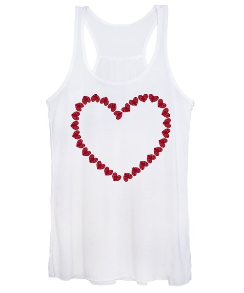 Heart From Red Hearts Women's Tank Top