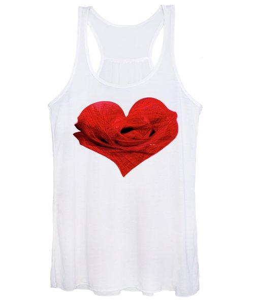 Heart Sketch Women's Tank Top
