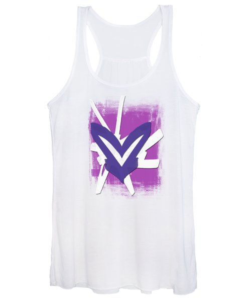 Hearts Graphic 3 Women's Tank Top
