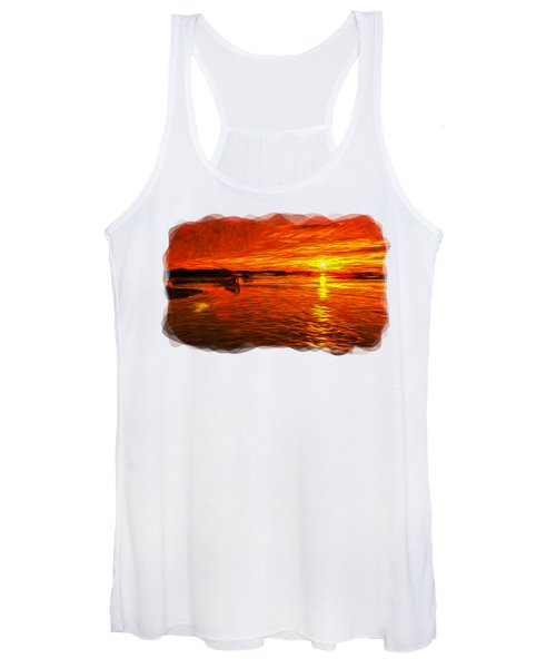 Heavens Of Fire 2 Women's Tank Top