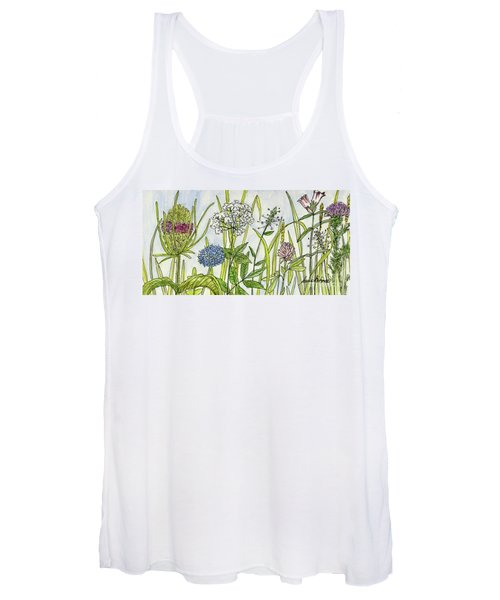 Herbs And Flowers Women's Tank Top