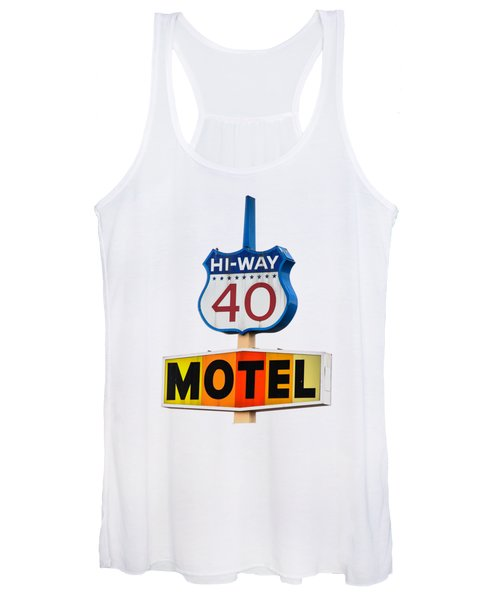 Hi-way 40 Motel Women's Tank Top