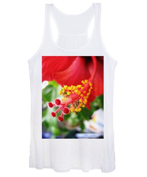 Hibiscus #3 Women's Tank Top