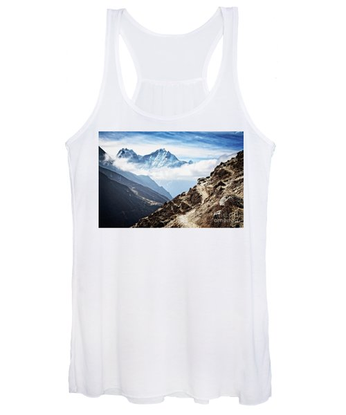 High In The Himalayas Women's Tank Top