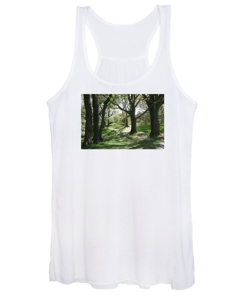 Hill 60 Cratered Landscape Women's Tank Top