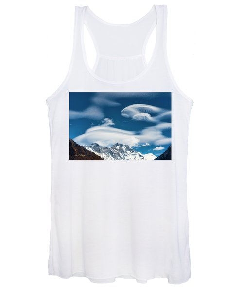 Himalayan Sky Women's Tank Top