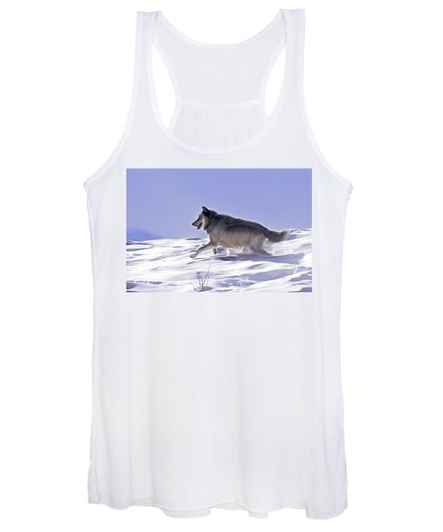 His Majesty Wolf 21m Women's Tank Top