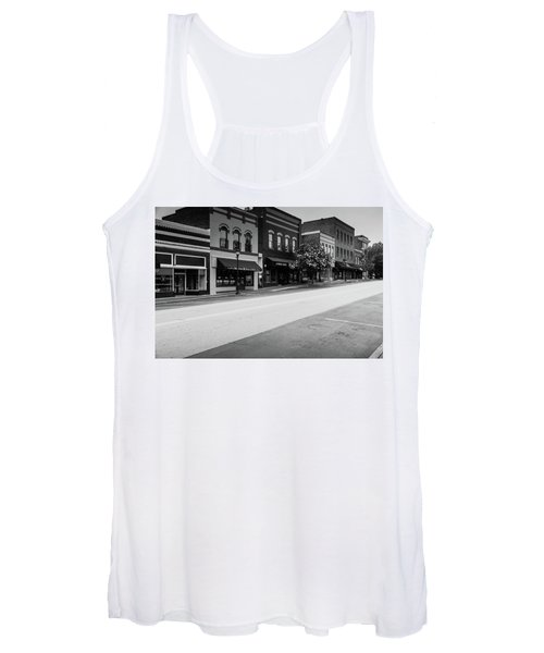 Historic Buford Downtown Area Women's Tank Top