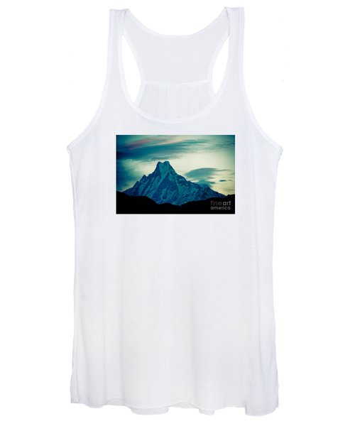 Holy Mount Fish Tail Machhapuchare 6998m Women's Tank Top