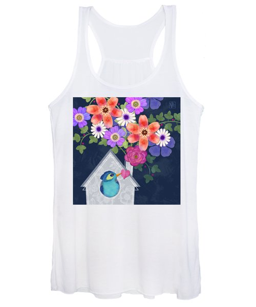 Home Is Where You Bloom Women's Tank Top