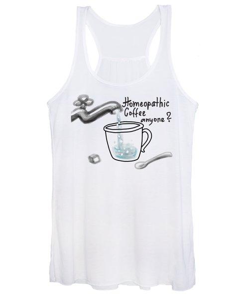 Homeopathic Coffee Women's Tank Top