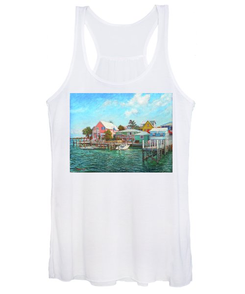 Hope Town By The Sea Women's Tank Top