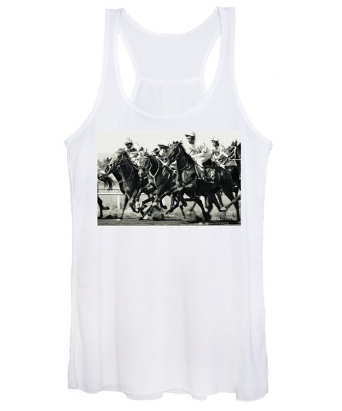 Horse Racing Women's Tank Top