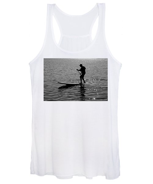 Hot Moves On A Sup Women's Tank Top