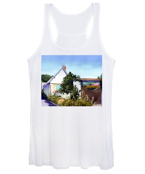 House At Giverny Women's Tank Top