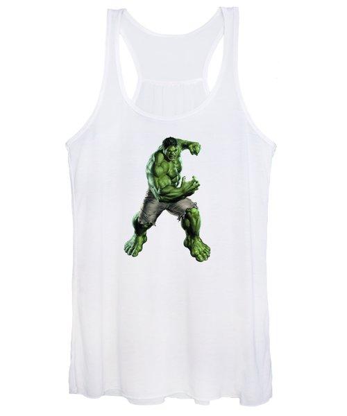 Hulk Splash Super Hero Series Women's Tank Top