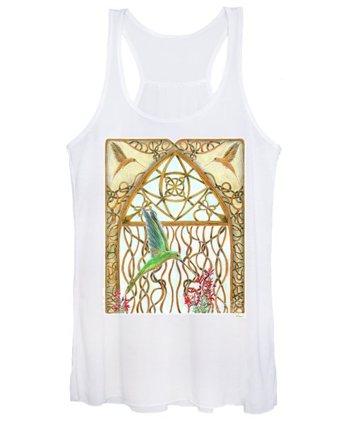 Hummingbird Sanctuary Women's Tank Top