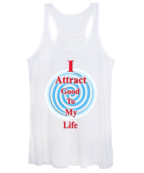 I Attract Red White Blue Women's Tank Top