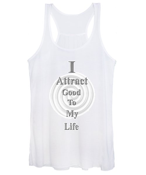 I Attract Silver Women's Tank Top