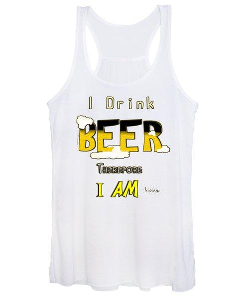 I Drink Beer Women's Tank Top