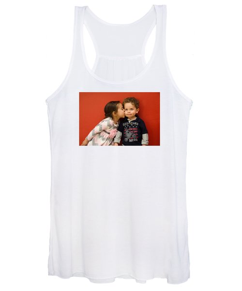 I Give You A Kiss Women's Tank Top