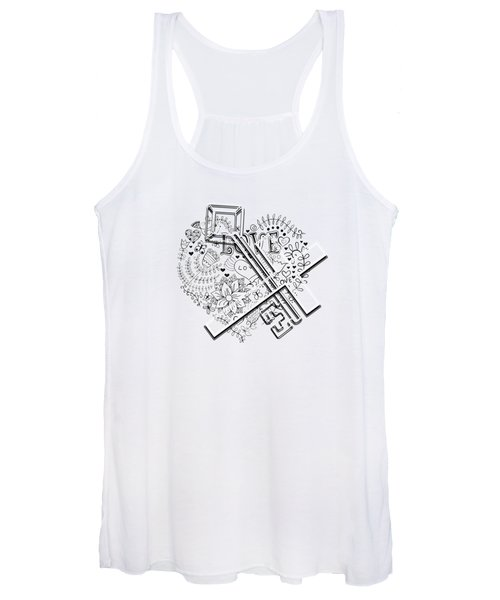 I Give You The Key Of My Heart Women's Tank Top
