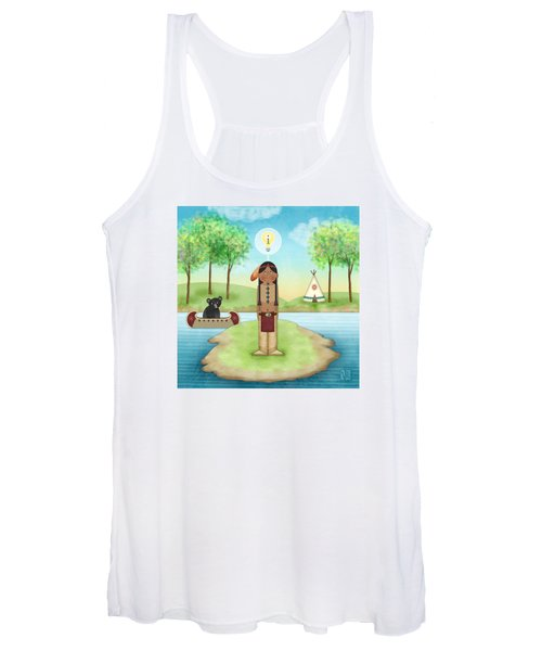 I Is For Indian Women's Tank Top