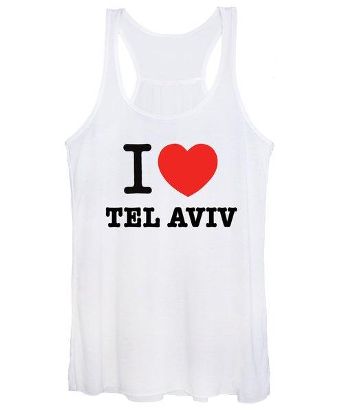 i love Tel Aviv Women's Tank Top