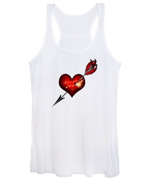 I Love You Heart And Arrow Women's Tank Top