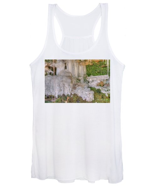 Ice Formations Women's Tank Top