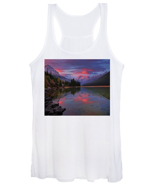 Icefields Parkway Autumn Morning Women's Tank Top