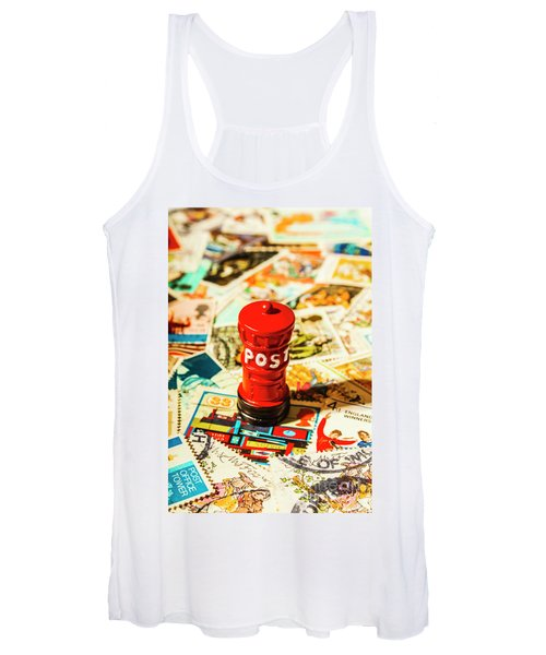 Iconic British Mailbox Women's Tank Top