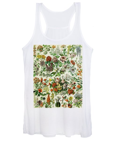 Illustration Of Flowering Plants Women's Tank Top