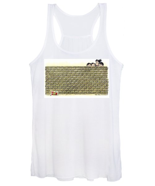 Immigrant Kids At The Border Women's Tank Top