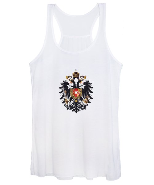 Imperial Coat Of Arms Of The Empire Of Austria-hungary 1815 Transparent Women's Tank Top
