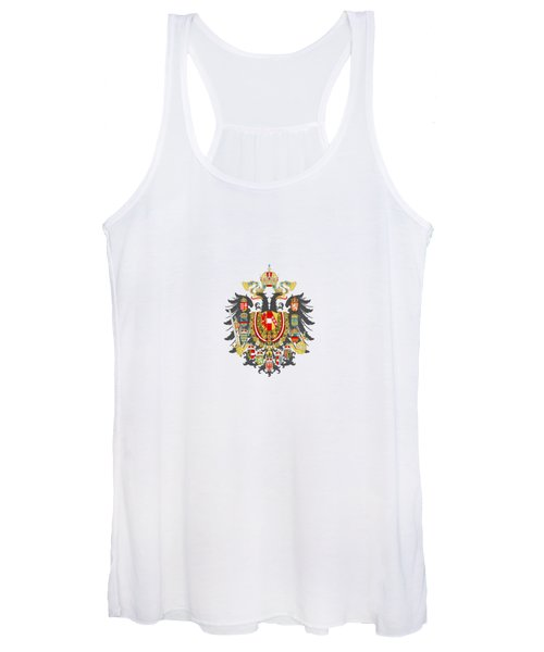 Imperial Coat Of Arms Of The Empire Of Austria-hungary Transparent Women's Tank Top